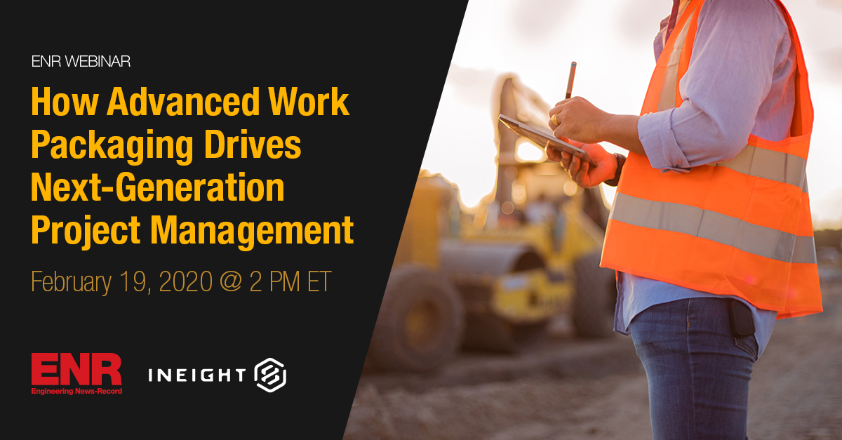 How Advanced Work Packaging Drives Next-Generation Project Management