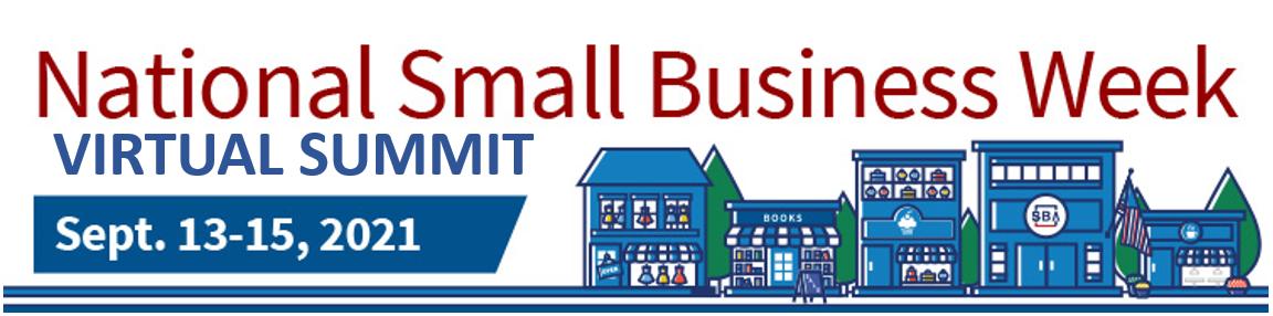 Small Business Week Virtual Conference May 7-May 8,2019